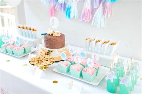 karas party ideas pastel mermaid birthday party karas