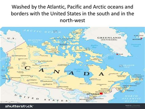 map of united states and surrounding oceans canada презентация онлайн