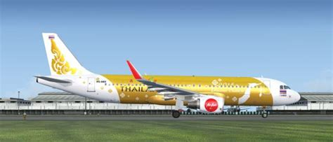 airasia thailand airbus a320 for fsx welcome to perfect flight 187 fsx fs2004 airbus a320 thai