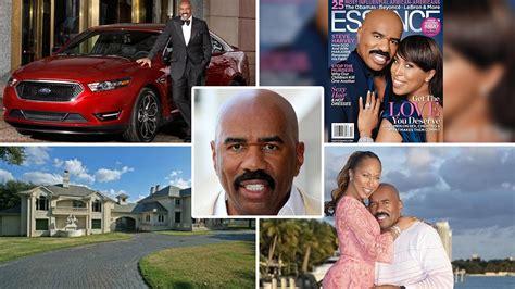 steve burrows comedian net worth steve harvey net worth house cars family bio