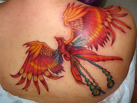 phoenix shoulder tattoo amazing tattoos for designs