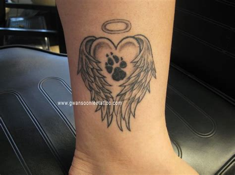 paw tattoos wings with paw gwan soon tattoogwan soon
