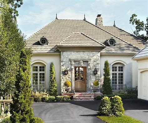french country homes exterior beautiful worldly influenced front doors french doors