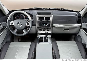 jeep nitro interior new jeep liberty weirdly appealing interior highs and