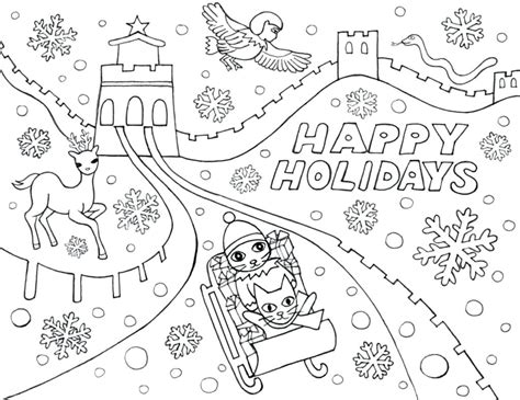 happy holidays coloring pages happy summer holidays coloring pages printable the jinni