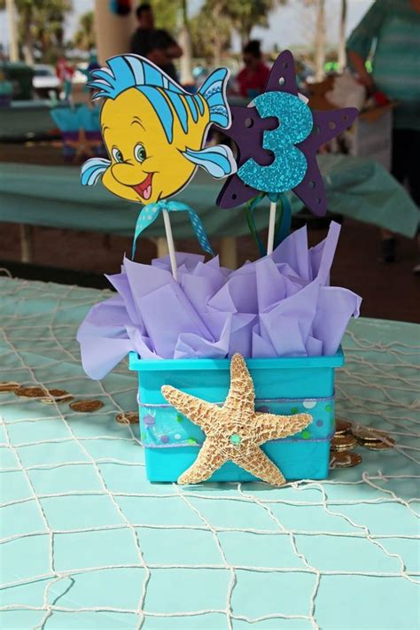 little mermaid centerpieces www pixshark com images