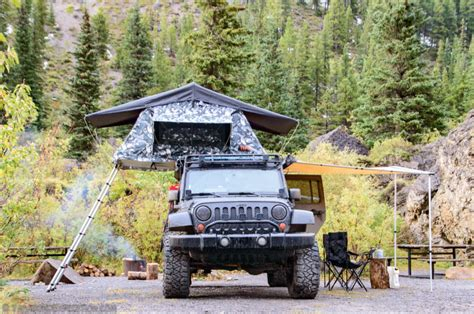 Jeep Wrangler Unlimited Roof Tent 7 Rooftop Tents That Will Satisfy Your Wanderlust Ntd Tv