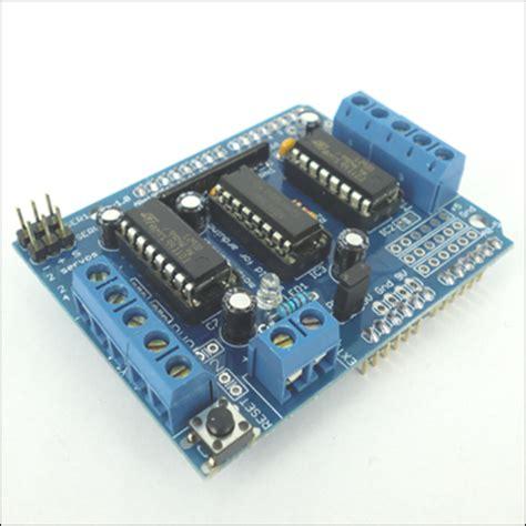Arduino Motor Dcstepper Dan Servo Shield L293d technology arduino l293d motor drive shield