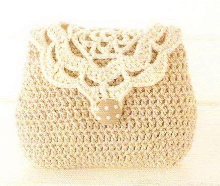 tutorial clutch rajut sweet bag free crochet pattern crochet accessories