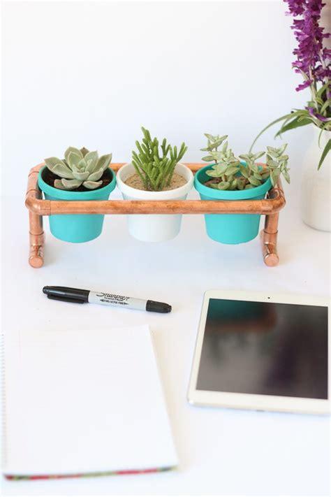 Diy Plant Holder - copper pipe pot plant holder diy tutorial sweet