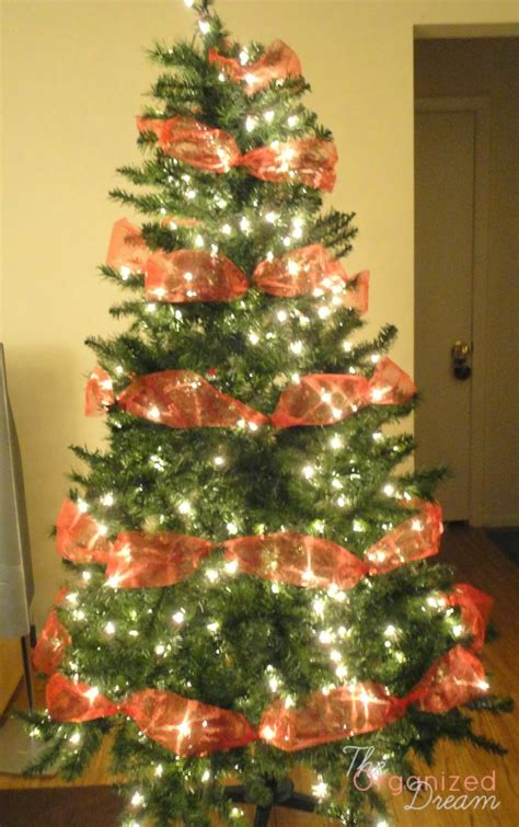 How To Decorate A Lshade With Ribbon by How To Decorate Tree With Mesh Great Printable
