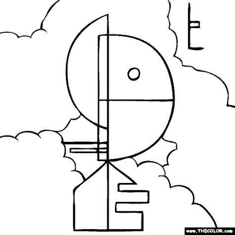 online coloring pages starting with the letter w