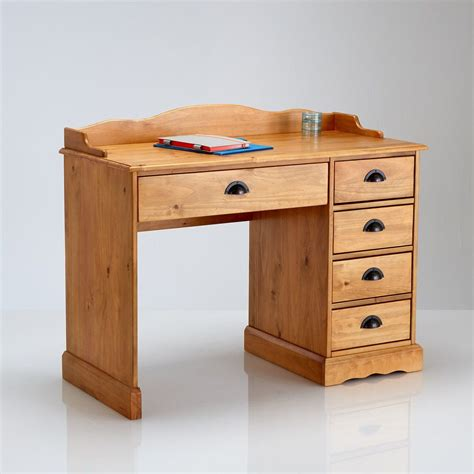 bureau enfant bois massif bureau bois massif la redoute mzaol com