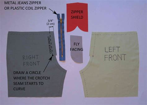 pattern making zipper jeans zipper fly tutorial grow your own clothes