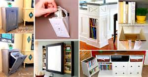 Household Storage Ideas 41 Mind Blowing Hidden Storage Ideas Making A Clever Use