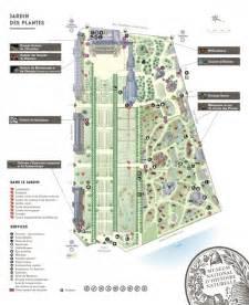 plan du jardin des plantes et du mus 233 um national d