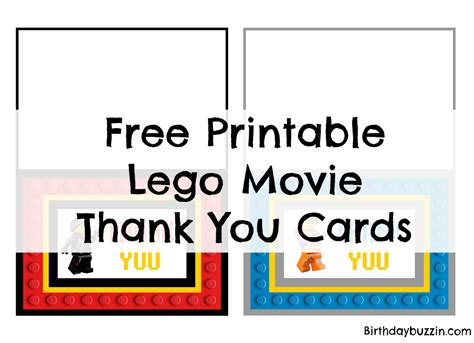 lego thank you card template free printable lego thank you cards birthday buzzin