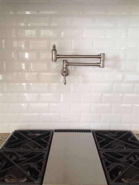 Daltile Subway Tile Dal Tile Ritten House Bevel Subway 3x6 Arctic White Glossy