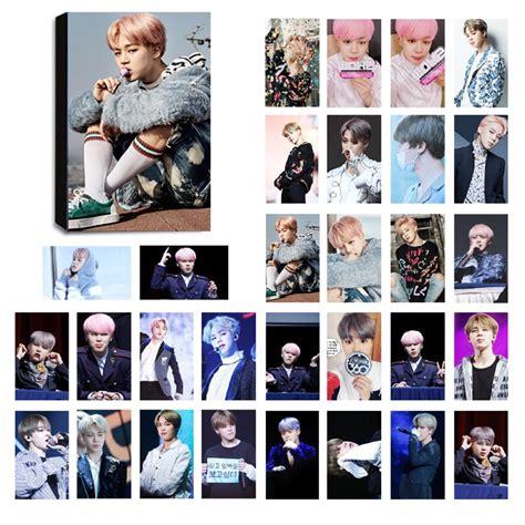 Photo Card Member Bts bts jimin ver 4 lomo photocard set kpop mall usa