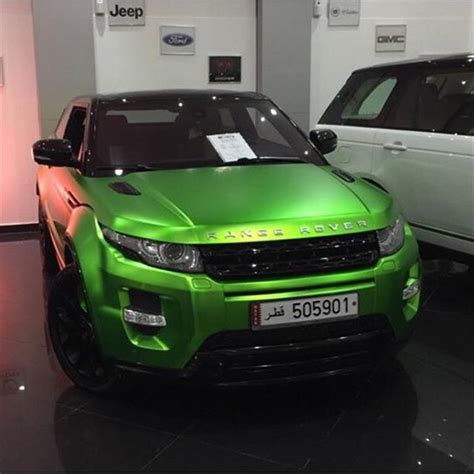 wrapped range rover range rover wrapped in matte green chrome ikon wraps