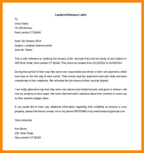 Landlord Reference Letter Australia landlord reference letter citybirds club