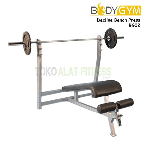 Kursi Alat Fitness Bench Press Abdominal Exercise decline bench press bg02toko alat fitness toko alat fitness