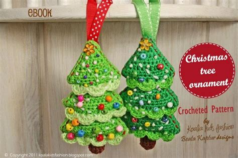 pattern for christmas tree decorations koalakidsfashion