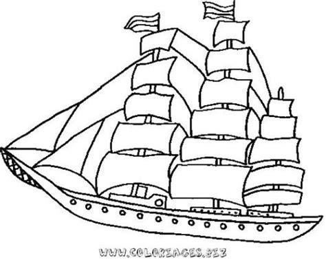 dessin bateau de plaisance coloriage bateau de croisiere