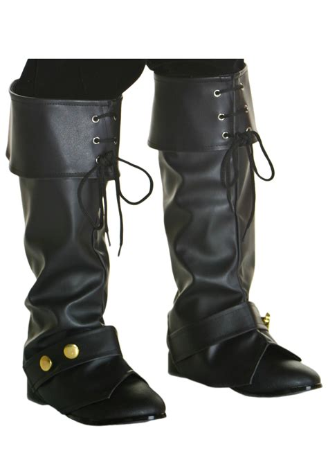 boot tops child deluxe pirate boot tops