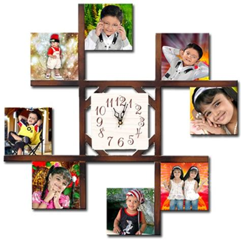 Buy Personalized 8PC Wall Clock Big at lowest price