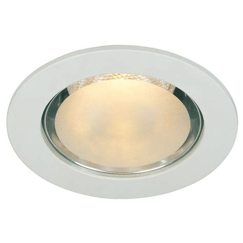 Commercial Electric 4 In White Shower Recessed Lighting Bathroom Recessed Light