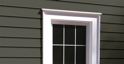 Decorative Exterior Door Trim Decorative Exterior Surrounds And Moulding Royal Building Products