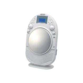 jensen amfm stereo shower radio  cd player  fog