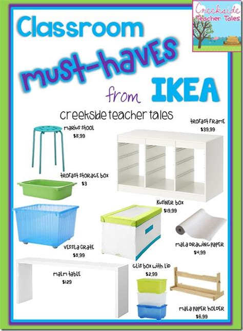 Small Home Must Haves 89 Best Images About Ikea Classroom On Planner