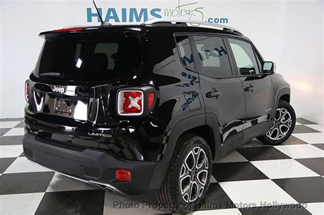 used jeep renegade 2017 used jeep renegade limited fwd at haims motors