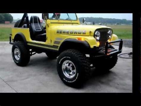 82 Jeep Cj7 82 Jeep Cj 7 W 300hp Amc V8 6 5 Lift 35s And Lots