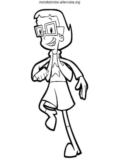 cyberchase coloring pages coloring home