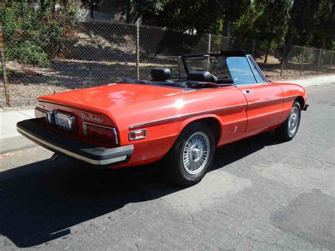 1978 Alfa Romeo Spider For Sale by 1978 Alfa Romeo Spider For Sale Classiccars Cc 894562