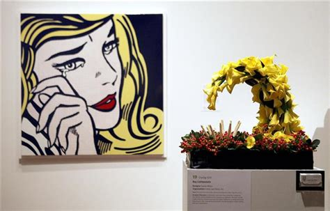 libro flora illustrata great works annual art in bloom event arrives at milwaukee art museum