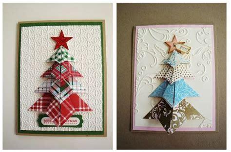 Origami Tree Card - origami tree card origami