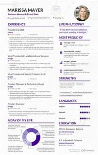Best Resume Template Yahoo Answers by Read A Sample R 233 Sum 233 For Marissa Mayer Business Insider