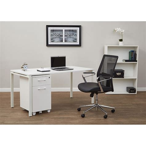 60 writing desk 60 in white writing desk prd3060d wh office afw