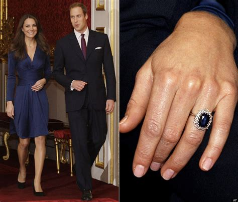 kate middleton engagement ring diana s former ring