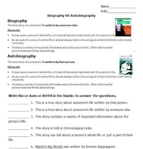 biography and autobiography test please feed the animals biography or autobiography