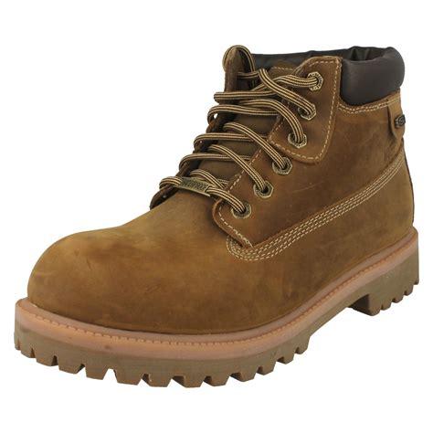 sketcher boots mens mens sketchers verdict waterproof boots ebay