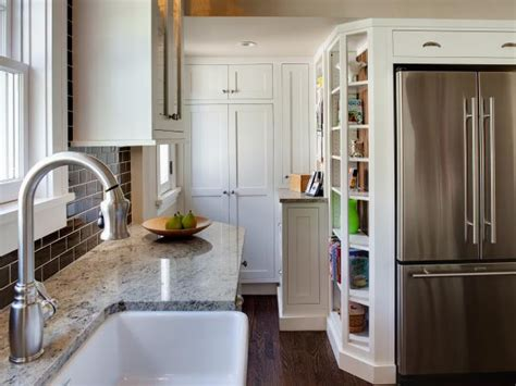 12 Deep Bookcase Tall Kitchen Cabinets Pictures Ideas Amp Tips From Hgtv Hgtv