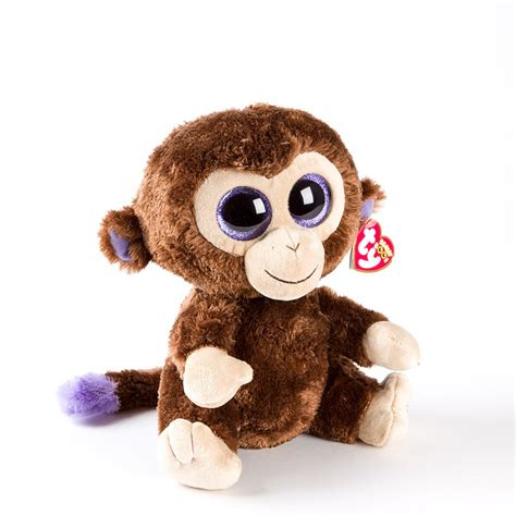 beanie boo 9 quot coconut monkey ty beanie boo