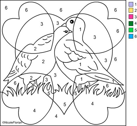 color by numbers coloring book of a valentines color by number coloring book for adults with hearts flowers butterflies and color by number coloring books volume 21 books s free coloring pages color by number valentines