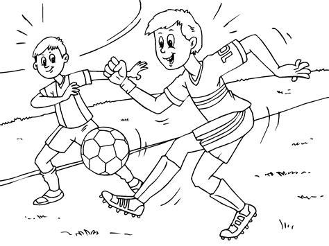 dibujos de ni os jugando para colorear az dibujos para colorear dibujos ni 241 os jugando al futbol imagui