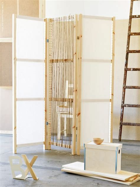 diy folding screen room divider woodworking projects plans